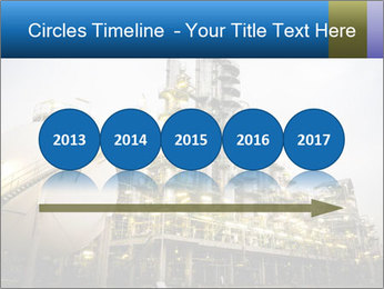 Petrochemical plant PowerPoint Template - Slide 29