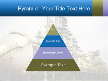 Petrochemical plant PowerPoint Template - Slide 30