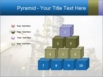 Petrochemical plant PowerPoint Template - Slide 31