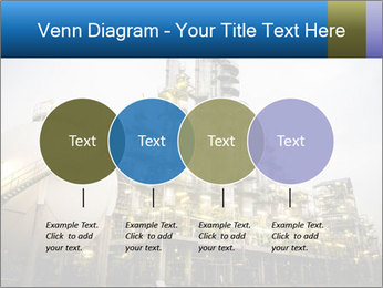 Petrochemical plant PowerPoint Template - Slide 32