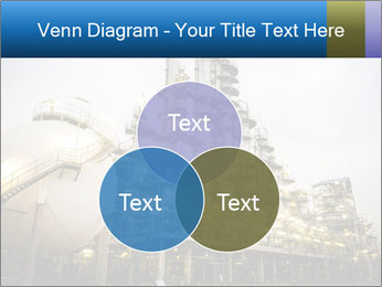 Petrochemical plant PowerPoint Template - Slide 33
