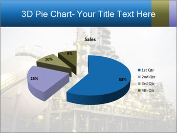 Petrochemical plant PowerPoint Template - Slide 35