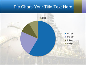 Petrochemical plant PowerPoint Template - Slide 36