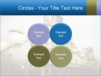 Petrochemical plant PowerPoint Template - Slide 38