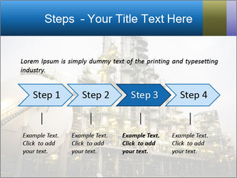 Petrochemical plant PowerPoint Template - Slide 4