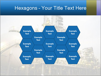 Petrochemical plant PowerPoint Template - Slide 44