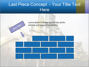 Petrochemical plant PowerPoint Template - Slide 46