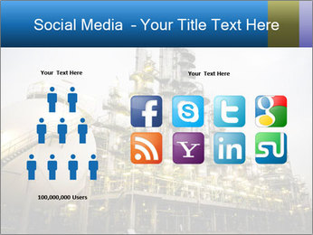 Petrochemical plant PowerPoint Template - Slide 5