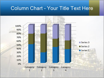 Petrochemical plant PowerPoint Template - Slide 50