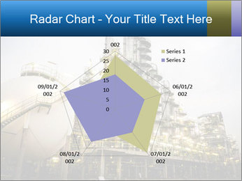 Petrochemical plant PowerPoint Template - Slide 51