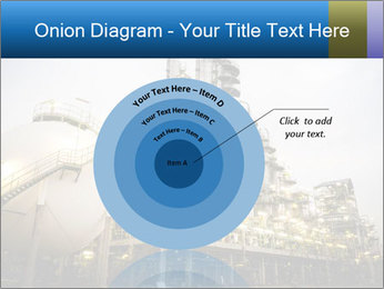 Petrochemical plant PowerPoint Template - Slide 61