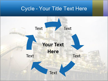 Petrochemical plant PowerPoint Template - Slide 62