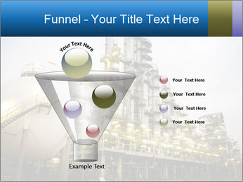 Petrochemical plant PowerPoint Template - Slide 63