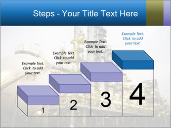 Petrochemical plant PowerPoint Template - Slide 64