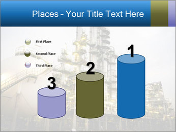 Petrochemical plant PowerPoint Template - Slide 65