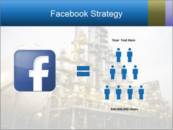 Petrochemical plant PowerPoint Template - Slide 7