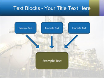 Petrochemical plant PowerPoint Template - Slide 70