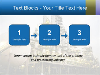 Petrochemical plant PowerPoint Template - Slide 71