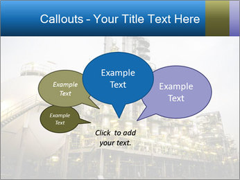 Petrochemical plant PowerPoint Template - Slide 73