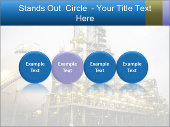 Petrochemical plant PowerPoint Template - Slide 76