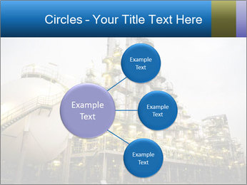 Petrochemical plant PowerPoint Template - Slide 79