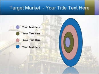 Petrochemical plant PowerPoint Template - Slide 84