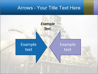 Petrochemical plant PowerPoint Template - Slide 90