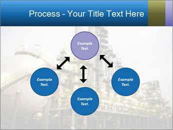 Petrochemical plant PowerPoint Template - Slide 91