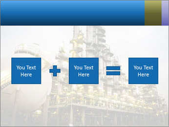 Petrochemical plant PowerPoint Template - Slide 95