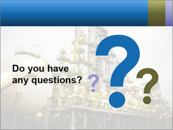 Petrochemical plant PowerPoint Template - Slide 96