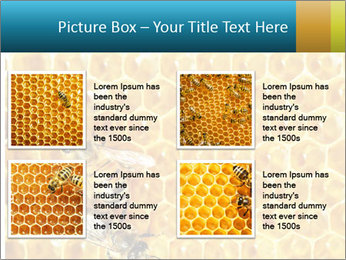 Working bees on honey cells PowerPoint Templates - Slide 14