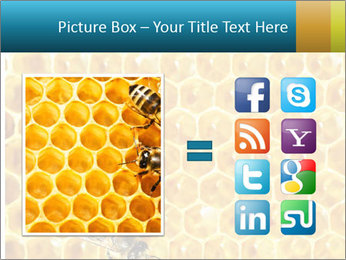 Working bees on honey cells PowerPoint Templates - Slide 21