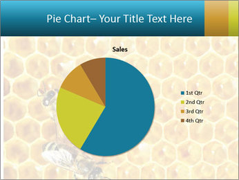 Working bees on honey cells PowerPoint Template - Slide 36