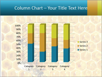 Working bees on honey cells PowerPoint Template - Slide 50
