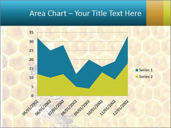 Working bees on honey cells PowerPoint Template - Slide 53