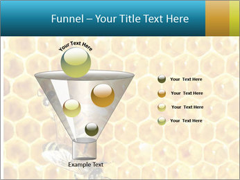 Working bees on honey cells PowerPoint Template - Slide 63