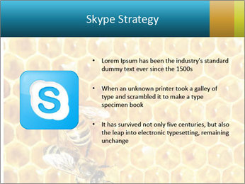 Working bees on honey cells PowerPoint Templates - Slide 8