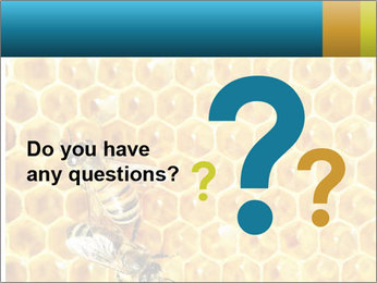 Working bees on honey cells PowerPoint Templates - Slide 96