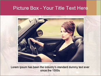 Young sexy Woman wearing cowboy hat PowerPoint Template - Slide 15