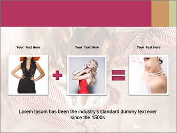 Young sexy Woman wearing cowboy hat PowerPoint Template - Slide 22