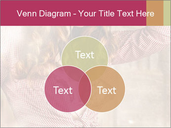 Young sexy Woman wearing cowboy hat PowerPoint Templates - Slide 33