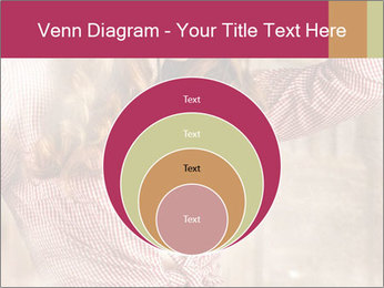Young sexy Woman wearing cowboy hat PowerPoint Templates - Slide 34