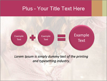 Young sexy Woman wearing cowboy hat PowerPoint Templates - Slide 75