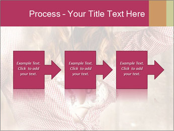 Young sexy Woman wearing cowboy hat PowerPoint Templates - Slide 88