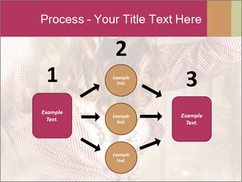 Young sexy Woman wearing cowboy hat PowerPoint Templates - Slide 92