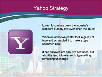 Toronto cityscape from Central Island PowerPoint Templates - Slide 11