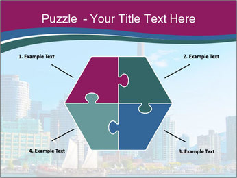 Toronto cityscape from Central Island PowerPoint Templates - Slide 40
