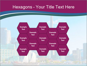 Toronto cityscape from Central Island PowerPoint Templates - Slide 44
