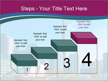 Toronto cityscape from Central Island PowerPoint Templates - Slide 64