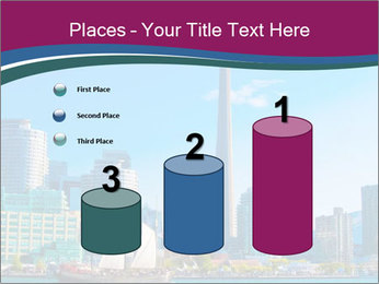 Toronto cityscape from Central Island PowerPoint Templates - Slide 65